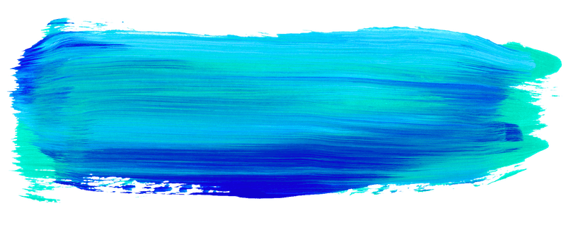 Every-Tuesday Blue Paint Streak Texture