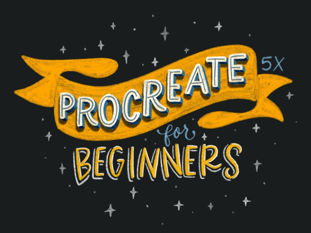 Intro to procreate for beginners