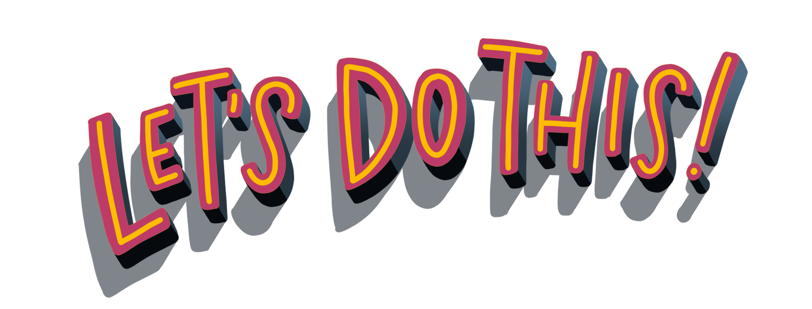 Enroll in 3d Lettering for Procreate Today!