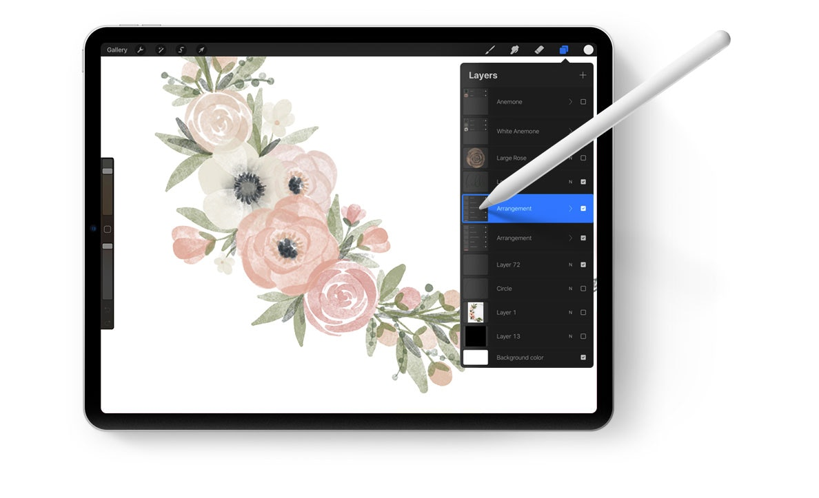 Learn traditional painting techniques in a digital format